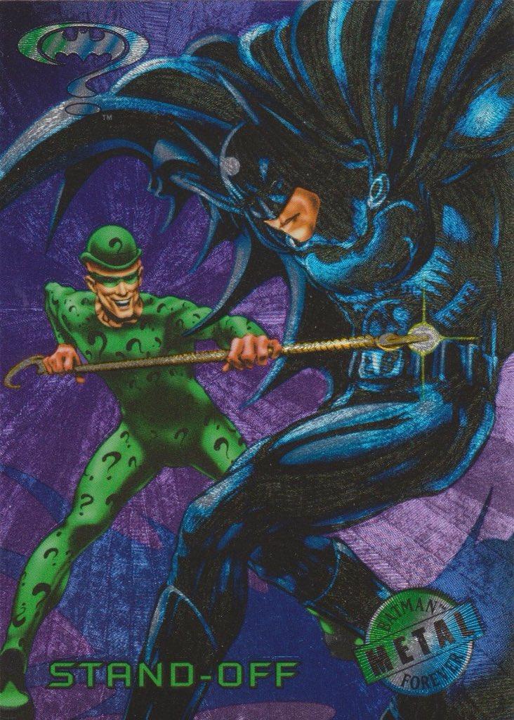 Cool Comic Art On Twitter Batman Forever 1995 Trading Card Art By Phil Jimenez Philjimeneznyc Colors By Adrienne Brown Regie Milburn
