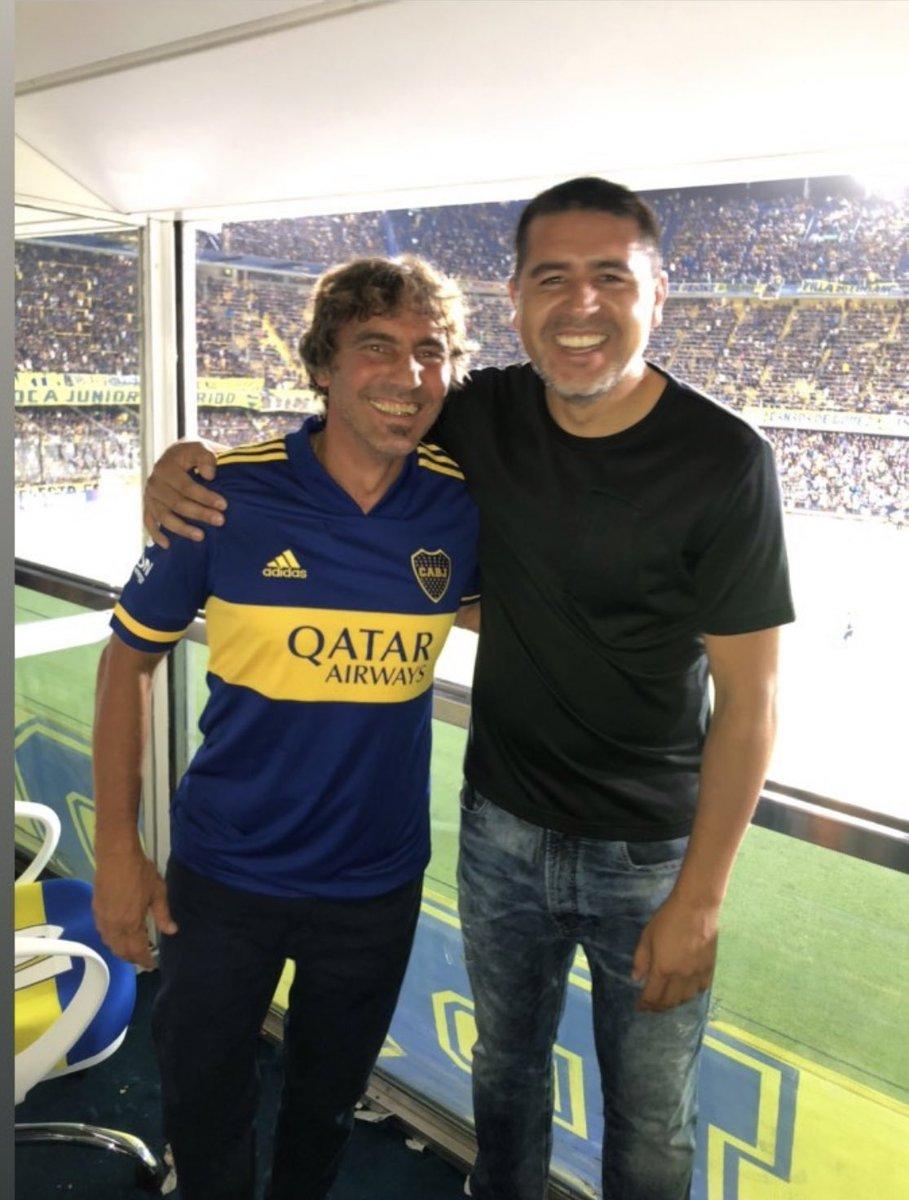 El goleador más grande que ví en Boca después de Palermo