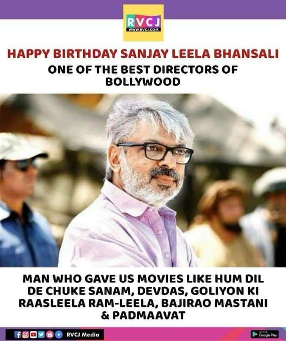 Happy Birthday Sanjay Leela Bhansali