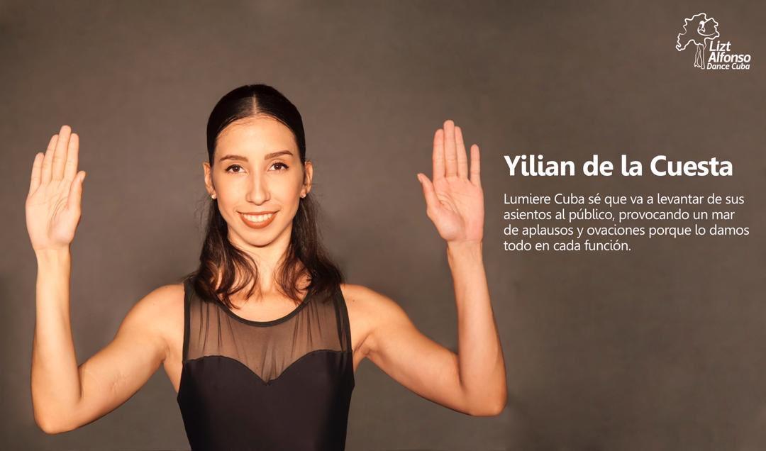 #ballerina Yilian Cuesta Matos disfruta 👏👏público #show #LumiereCuba 👇👇👇 . . . Pic by: Buby Bode  #LiztAlfonsoDanceCuba #Showinhavana #firtseason #dance #fusion #instapic #beatifulballerina #picoftheday #LiztAlfonso