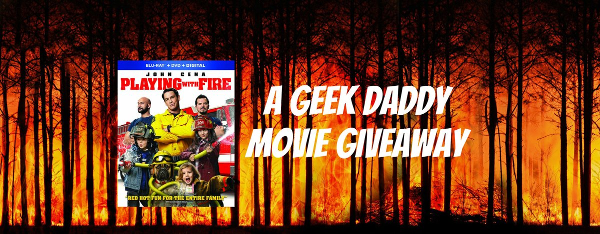 A GEEK DADDY MOVIE GIVEAWAY → PLAYING WITH FIRE courtesy of @ParamountMovies: https://www.ageekdaddy.com/2020/02/playing-with-fire.html … #PlayingWithFireMovie #Giveawaypic.twitter.com/Mai9AsD4fn