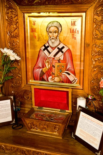 Thank you, Steve. Yes, #SaintValentin, Bishop of Umbria, a healer, is observed by Christian Orthodox Church on 30 July.  #Dragobete, 24 Feb, is the traditional celebration of #love and #Spring, of new beginnings, tied with observing the seasons - not connected wt. any Saint V.<br>http://pic.twitter.com/GGxC8JQhE7