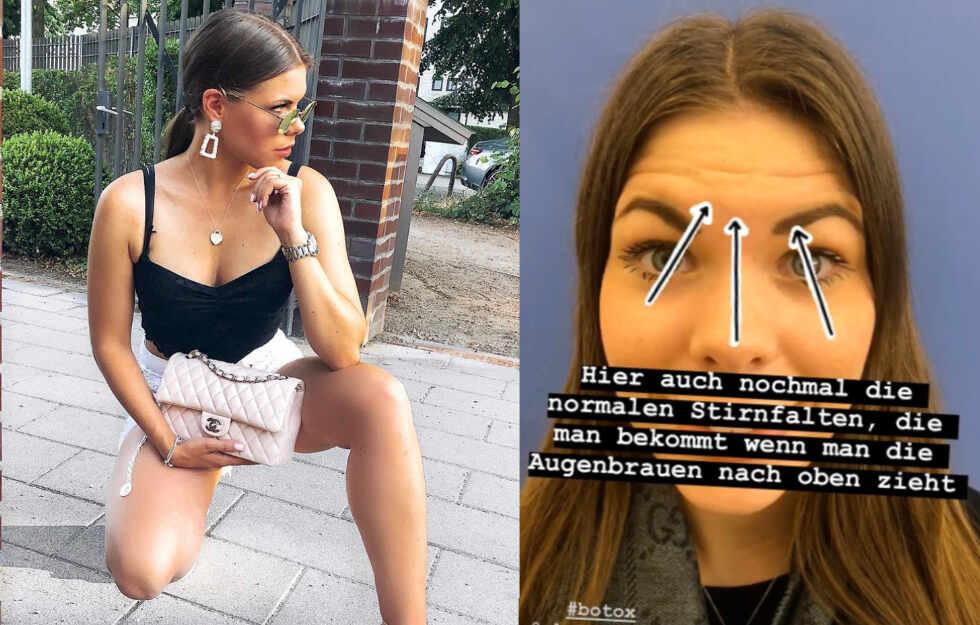 """Influencerin nach Botox-Beichte: """"Wenn ich böse gucke, sieht das so aus..."""" #Hamburg #Botox https://www.tag24.de/nachrichten/jacky-secret-influencerin-hamburg-botox-versuch-boese-gucken-keine-falten-mehr-1396911…pic.twitter.com/JkM5E5pWxo"""