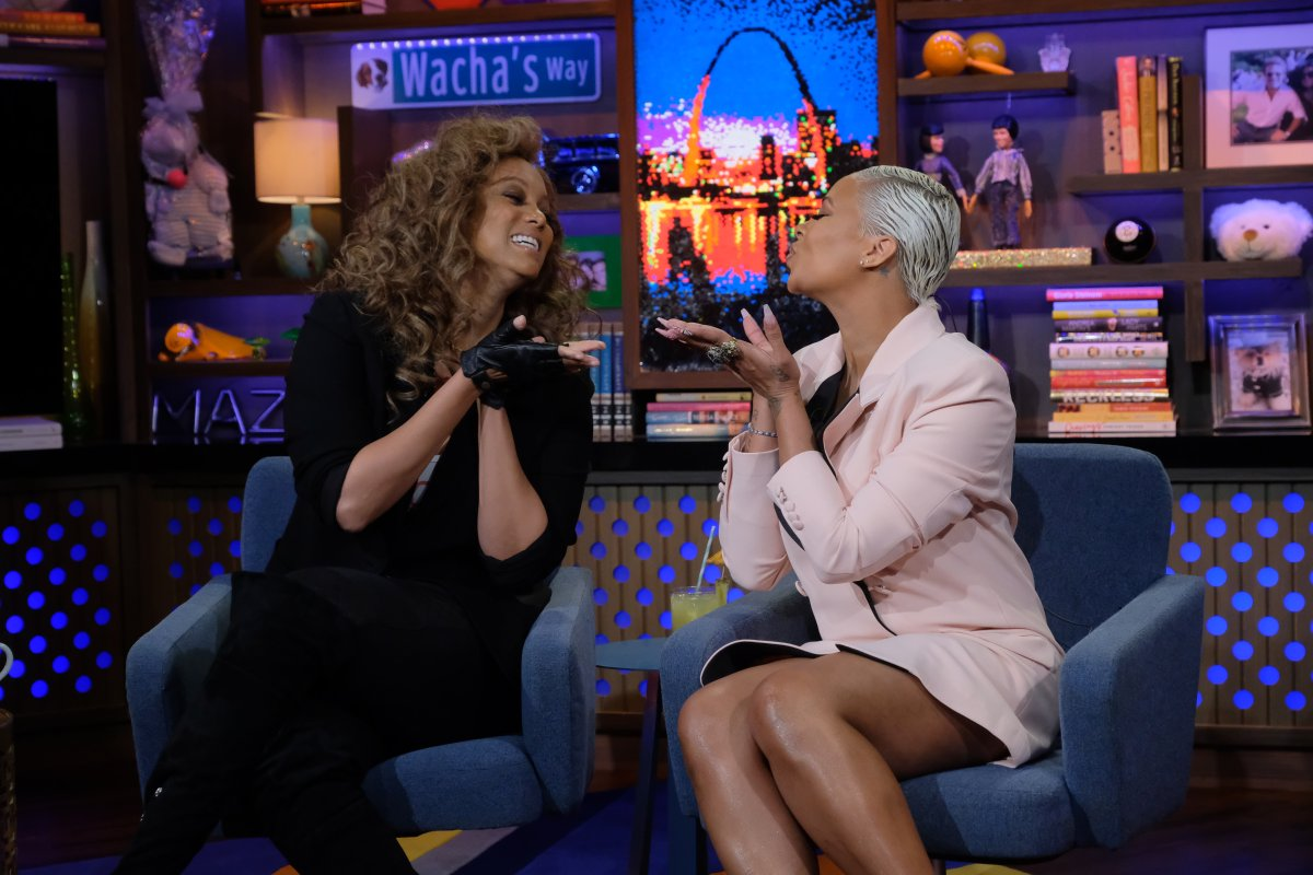 ICYMI: Last night's #WWHL After Show w/ @TyraBanks & @EvaMarcille is up on our YouTube channel!