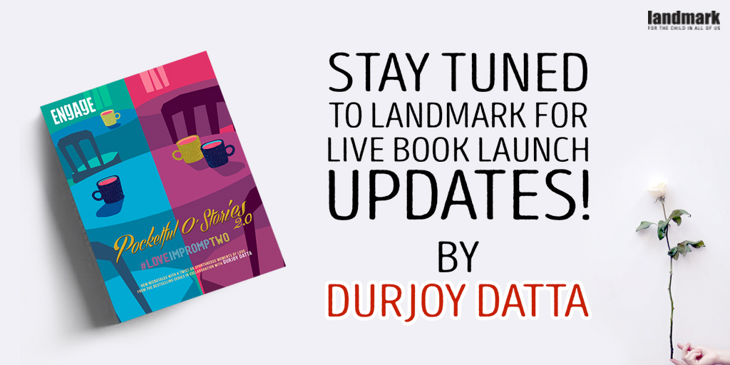 A few more hours to go! Stay tuned and be the part of it.  #booklaunch #durjoydatta #pocketfulostories #microtales pic.twitter.com/mX1SCf2sBJ