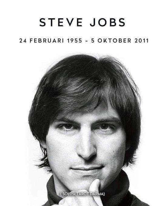 Happy Birthday Bapak Steve Jobs