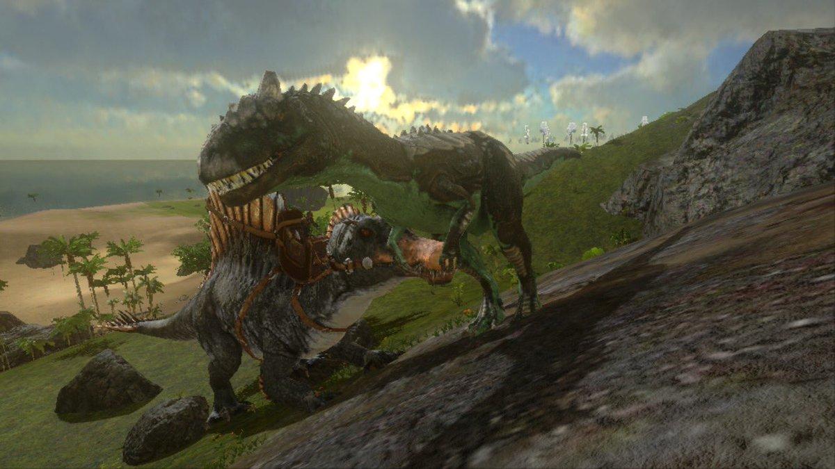 テイム アロサウルス