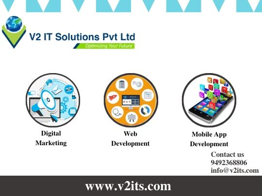 Partner with the best #itservices #v2itsolutions in #khammam. We offer you services like #webdevelopment, #mobileappdevelopment, #businessconsultancy, #digitalmarketing.  #v2itsolutions #itservices #phpandwebdevelopment #webdevelopers #webdevelopmentservices #webdesignpic.twitter.com/9T3ENyEc55
