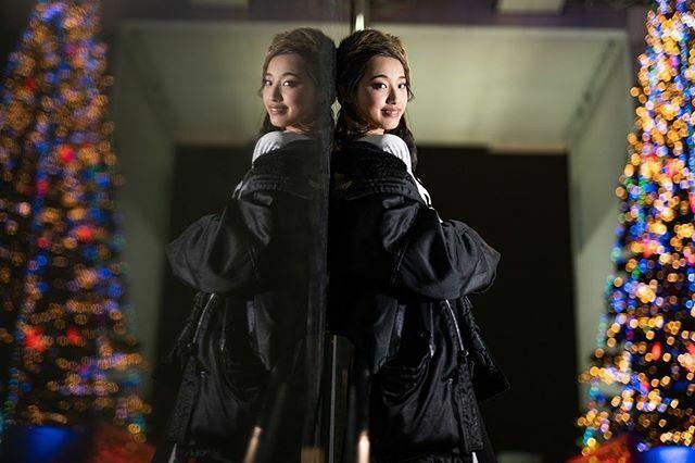 鏡の中の少女 photographer: Lucas makeup:Yuzuki model: Ayame コラボ企画募集中です♪ #portrait #ポートレート #イルミネーション #illumination #amazing #ファインダー越しの私の世界 #京都駅 #夜景 #kyoto #京都 #モデル募集 #被写体募集