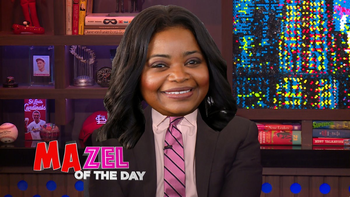Shout out to @OctaviaSpencer for putting the MA in tonight's MAZEL!