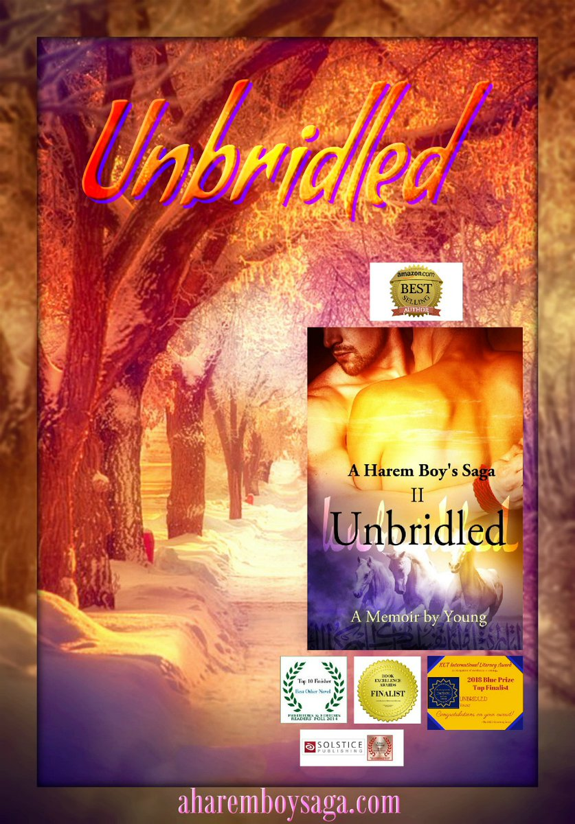"""""""When snow falls, nature listens."""" UNBRIDLED http://myBook.to/UNBRIDLED is the sequel to a sensually illuminating true story about a young man coming-of-age in a secret society & a male harem. #BookBoost #LGBTQIApic.twitter.com/Aul5t1OXj7"""