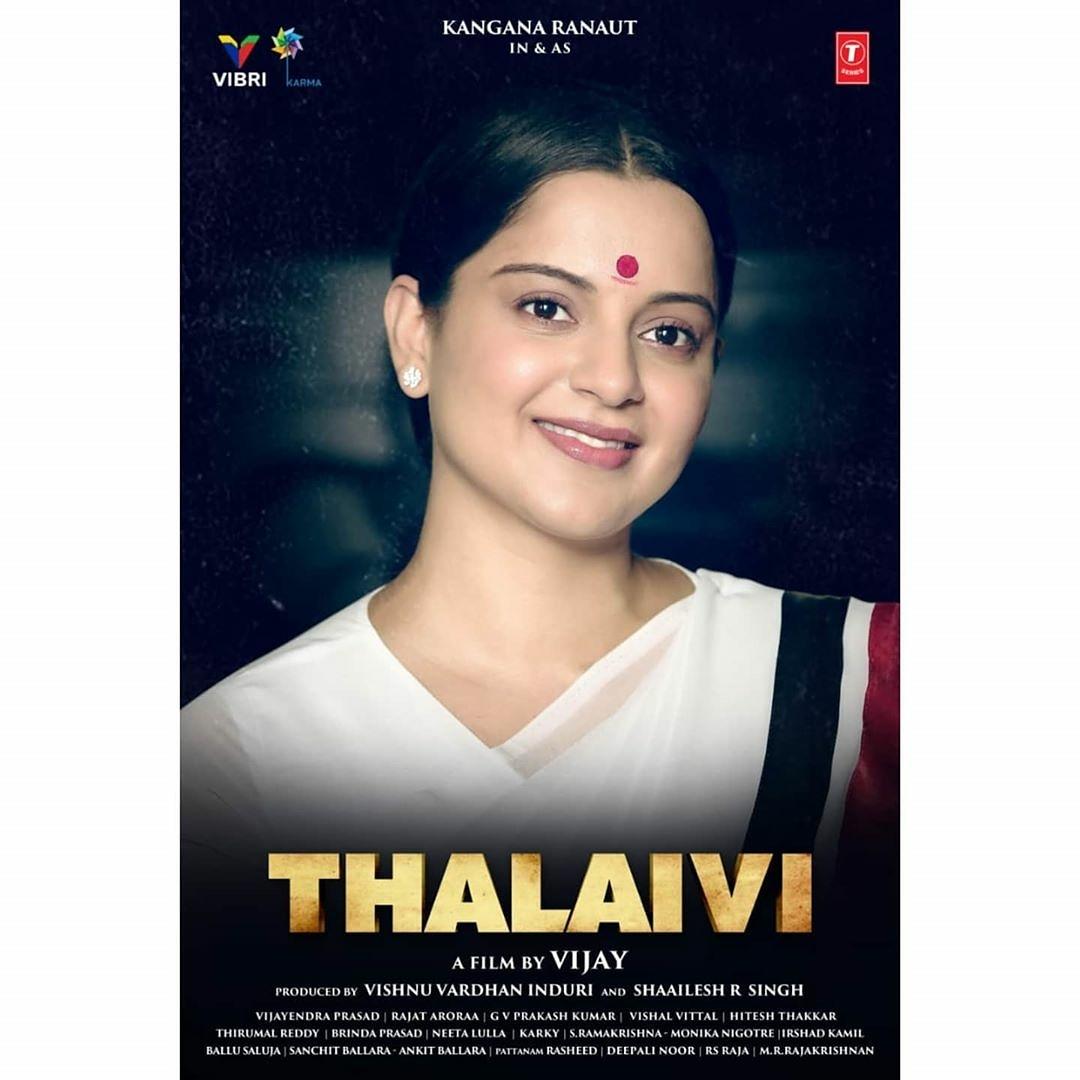 @KanganaDaily On  #Thalaivi 's birth anniversary, here's another glimpse of #KanganaRanaut looking like a mirror image of #Jayalalithaa #ThalaiviBirthAnniversary  @itsBhushanKumar @TSeries  #KangnaRanaut #newsoftheday  #jayalalithaabiopic #Jayalalithaa #tejas #panga #Manikarnik<br>http://pic.twitter.com/PkU0dntCMw
