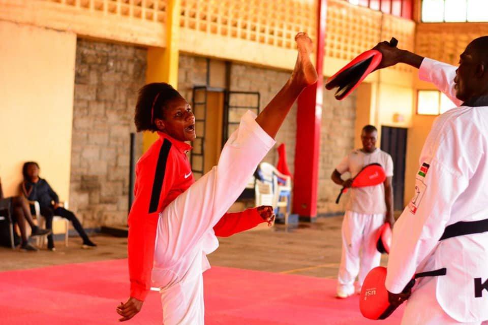 Kibabii University Student Faith Ogalo Qualifies For Tokyo Olympics In Taekwondo (Photos) bit.ly/2SUFzag