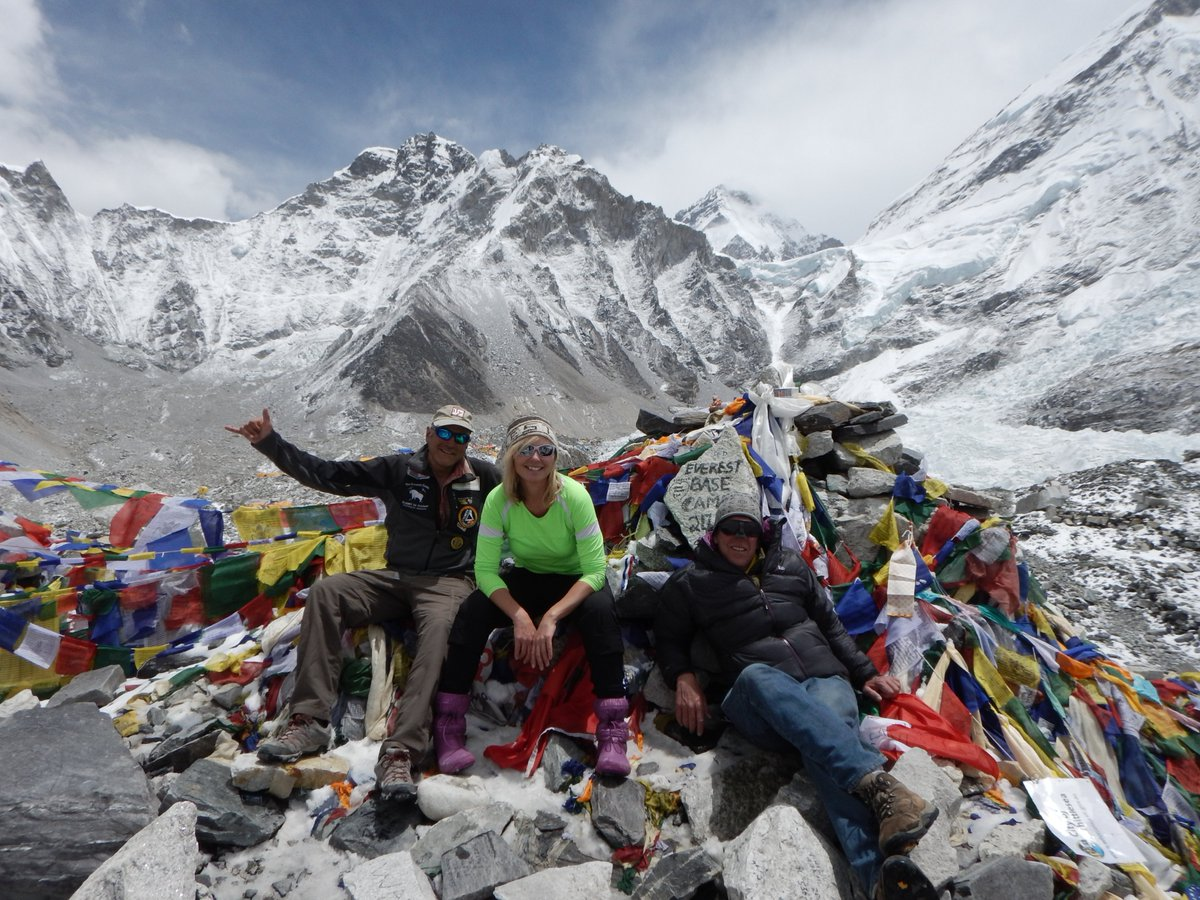 http://www.EverestBasecampWalk.com - Everest Basecamp Trek with our fun team of men and women of all ages, leader Dan Mazur and Sherpas to World's Most Famous Base Camp in April and November.  #EverestBaseCamp #Climbing #Expedition #SummitClimb