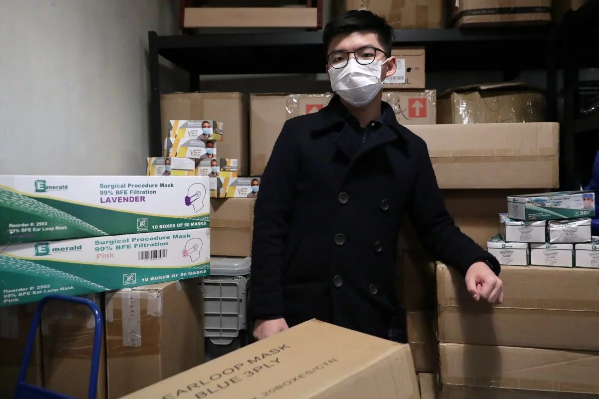"""We looked for routes that could send us the supplies right away."" Joshua accused HKGov Economic & Trade Offices working overseas of ""failing to do their jobs"" by not finding a way around the export challenges."
