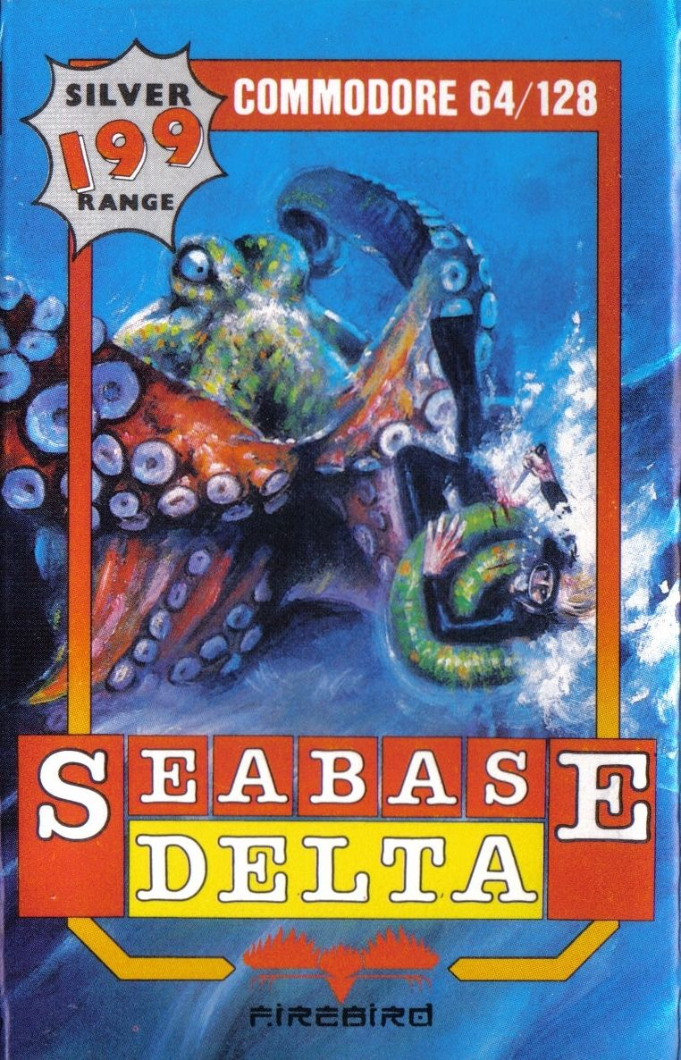 Title: Seabase Delta Platform: Commodore 64 Year: 1986 Publisher:  Firebird Software  #retrogaming #gaming #videogames #boxart #Commodore #Commodore64 #C64pic.twitter.com/kFhmH1QIK6