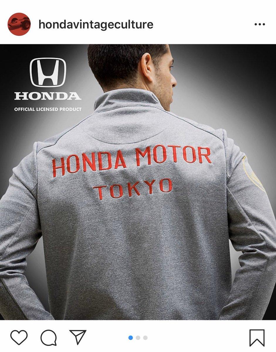 コレ良いなぁ。60年代風スタッフジャケット。 #f1jp #f1 #honda #HondaF1 #HondaRacingF1 #HondaRacing #hondaracing_hpd #1964 #f1vintage  @hondavintageculture https://www.instagram.com/p/B8HYg4ynH-z/?igshid=lh587900bpir…