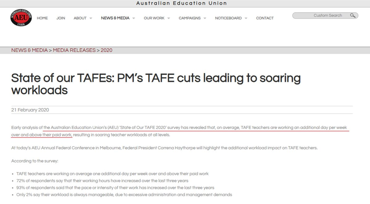 @The1770Impact @TAFEeducation @AEUfederal Care to weigh in @TDA_VET @CraigRo50765824 @TAFEeducation @nationalAEN @gedkearney @Louise_Pratt @AEUfederal? Are TAFE underpaying staff or not? #WageTheft #auspol2020