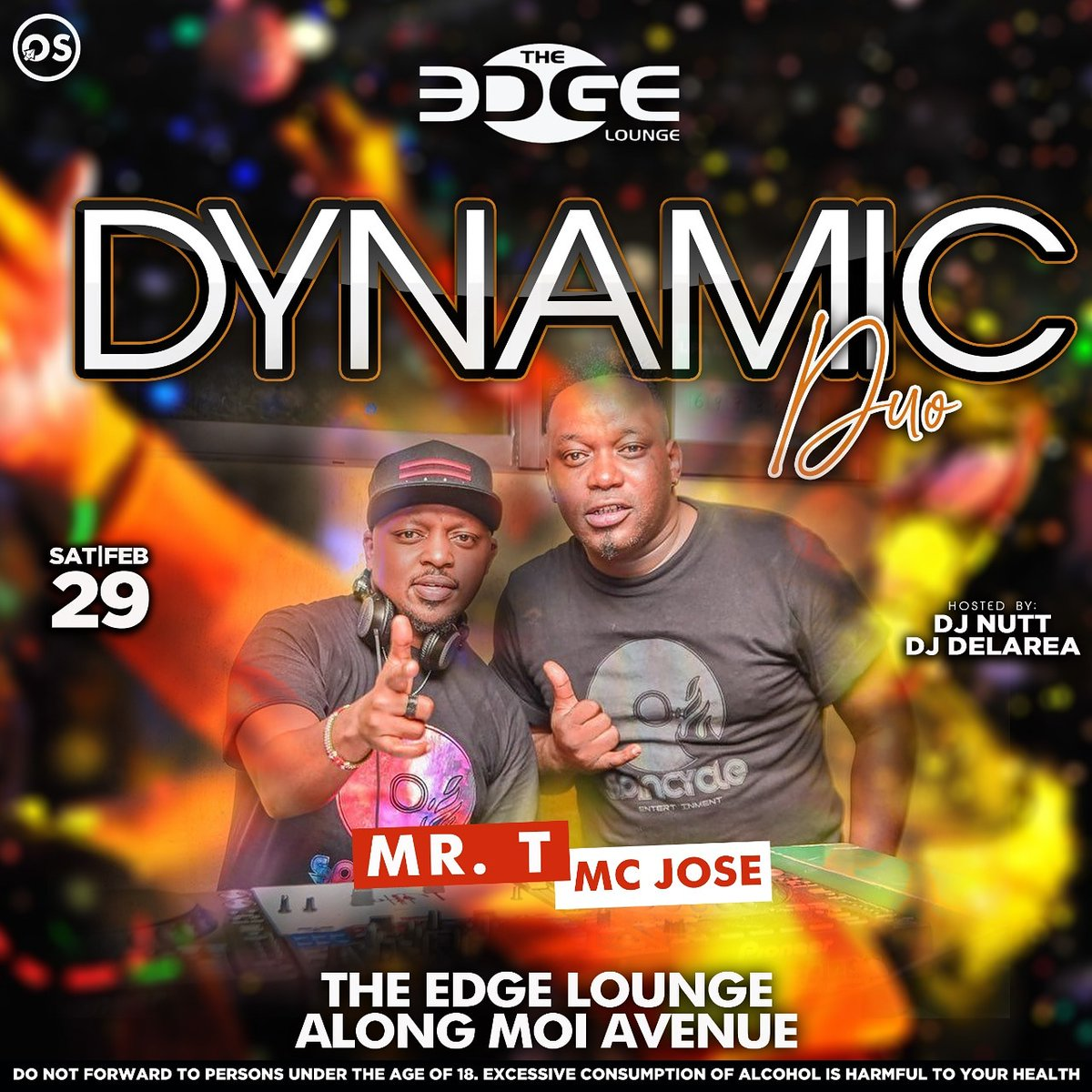 #dynamicduo the party is gonna be @tmistah @mcjose254 will turnup the heat... #saturdaze #saturdaynightlive #saturdaymoments #saturdayfeeling #saturdayparty #saturdaynightvibespic.twitter.com/ENVz78jXAk