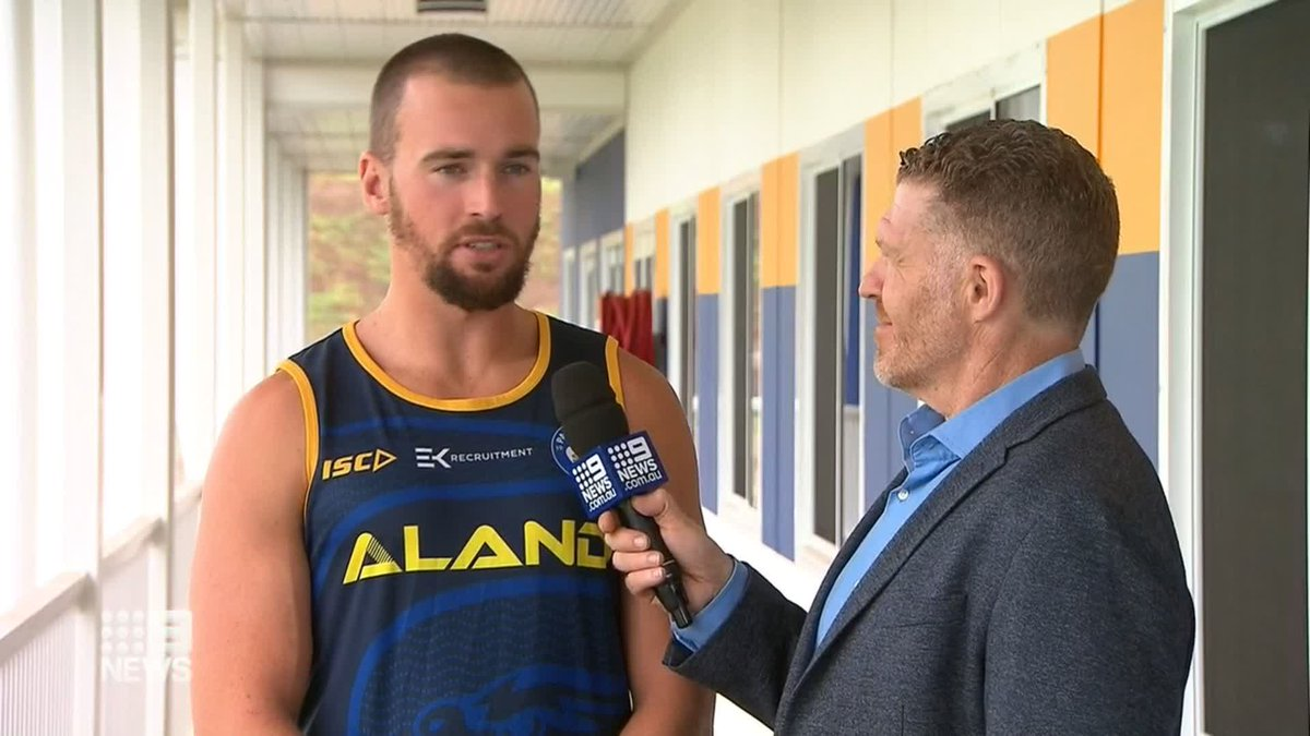.@TheParraEels Captain Clint Gutherson is determined to get in the way of a @sydneyroosters three-peat, saying people are sick of the Roosters dominating the NRL. @Danny_Weidler #9News