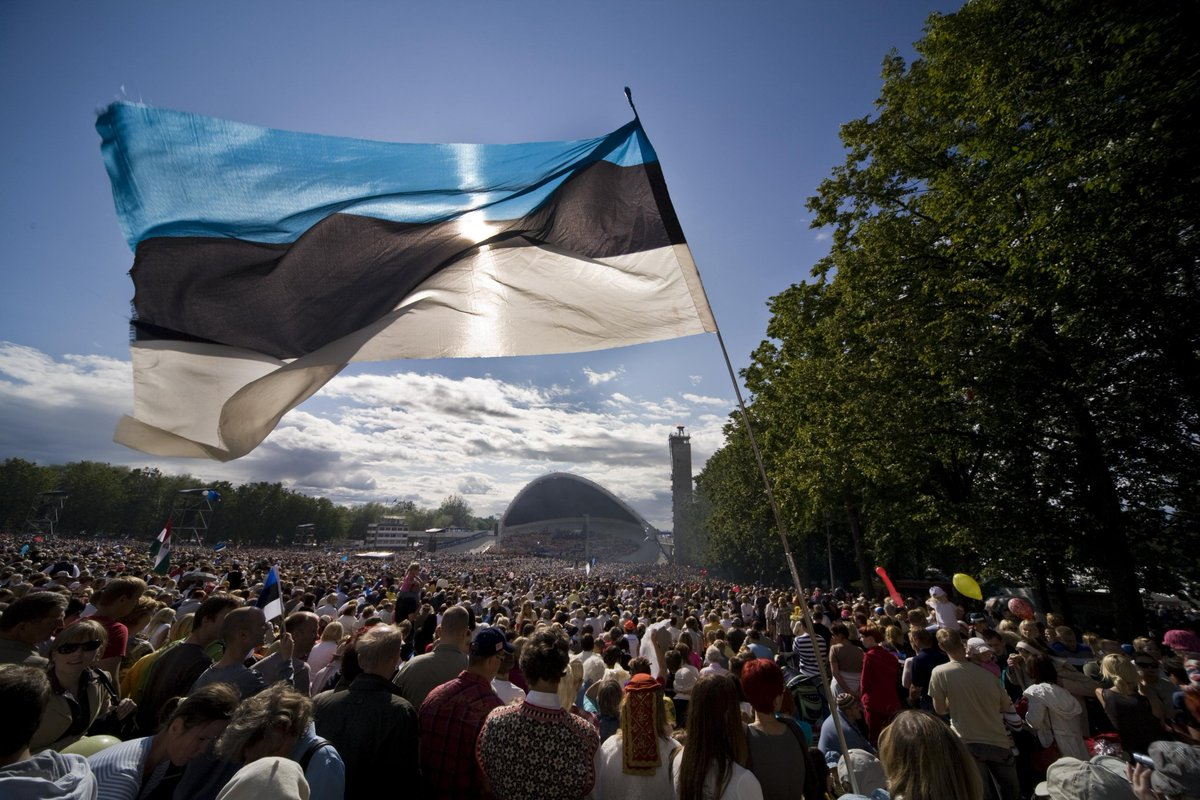 Today we celebrate Estonia 🇪🇪! Happy 102 birthday to our small yet smart country. In…