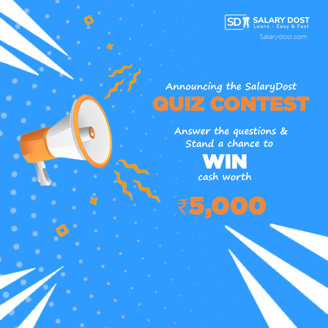 We bring you an interesting contest to test your knowledge about SalaryDost!  Stay tuned!  #RT now !!  #SacchaDostSalaryDost #ContestComingSoon #SalaryDost