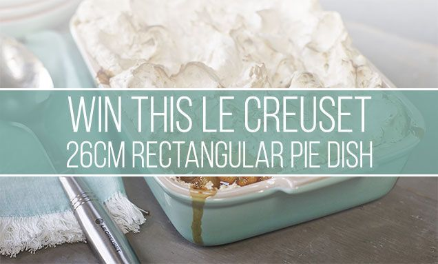 COMPETITION TIME: For a chance of winning this Cool Mint @LeCreusetUK 26cm Rectangular Pie Dish, tell us below where the Banana Meringue Recipe originated from... Read all about it here: https://buff.ly/32oo7hv  Closing date: Midnight 27-02-20. T&C's apply. UK only.#lecreuset pic.twitter.com/hkuSdO0ZKU