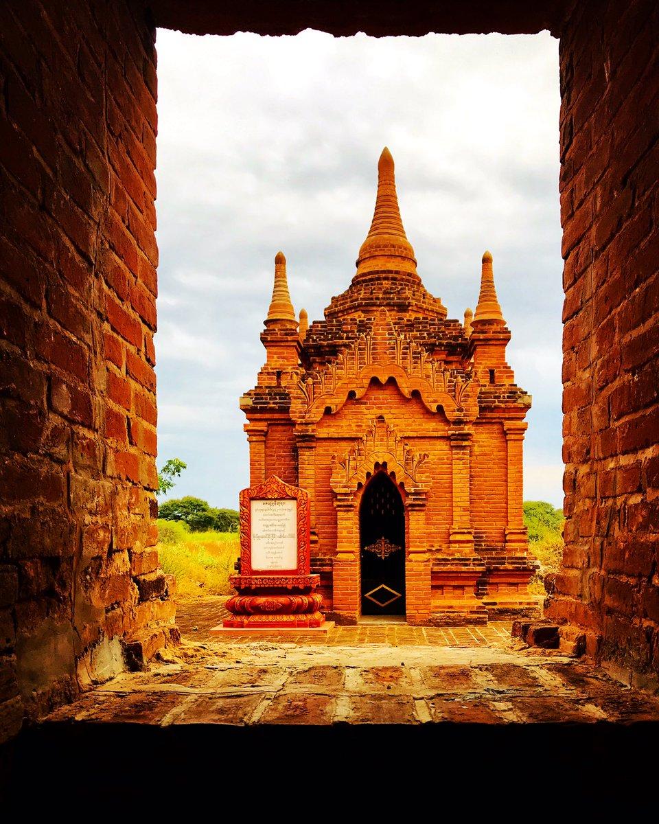 Old  Bagan, Myanmar 🇲🇲 #adventuretravel #naturephotography  #adventure  #amazingworld #authentic #beautifulpeople #happiness #localpeople #ibicencoxelmundo #funnythings #myanmar #bagan #oldbagan #temple – at lemyethna temple