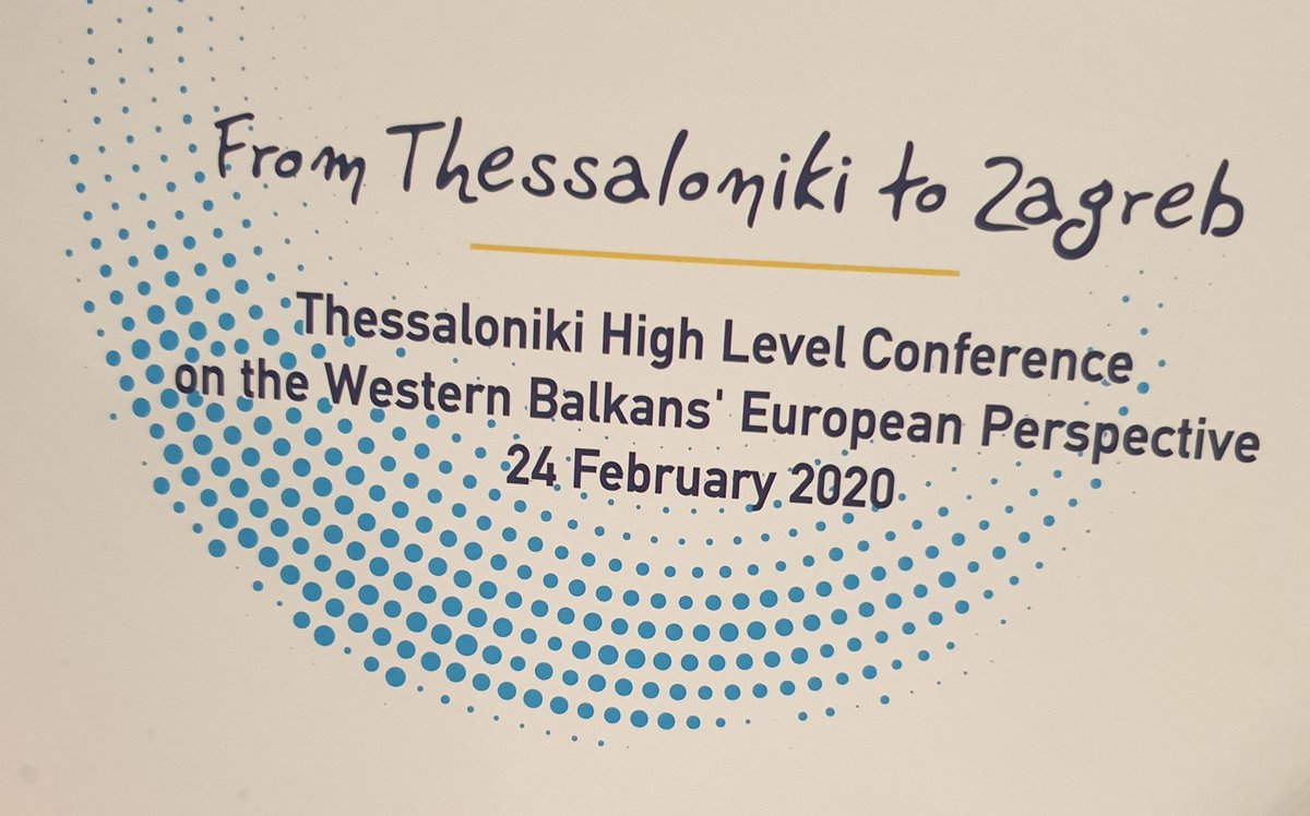 FM of #GlaukKonjufca at #Thesaloniki: VisaLib for #Kosovo and #EUintegration have no alternative. Economic and social development #Kosovo's longterm priority for peace in the #WB.pic.twitter.com/Ry8RNB9bp1