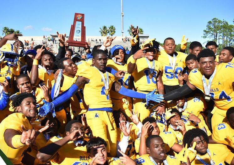 """ICYMI, S. FL high-school #football teams claimed 7 of 8 state titles, """"beating the crap out of teams"""" from Central & N. FL  #TeamDotie congratulates #MiamiNorthwestern, #MiamiCentral, and #BookerTWashington for showing them how it's done in the 305!  https://buff.ly/2PixBWB"""