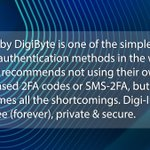 Image for the Tweet beginning: Today's #DigiFact by #DigiByte
