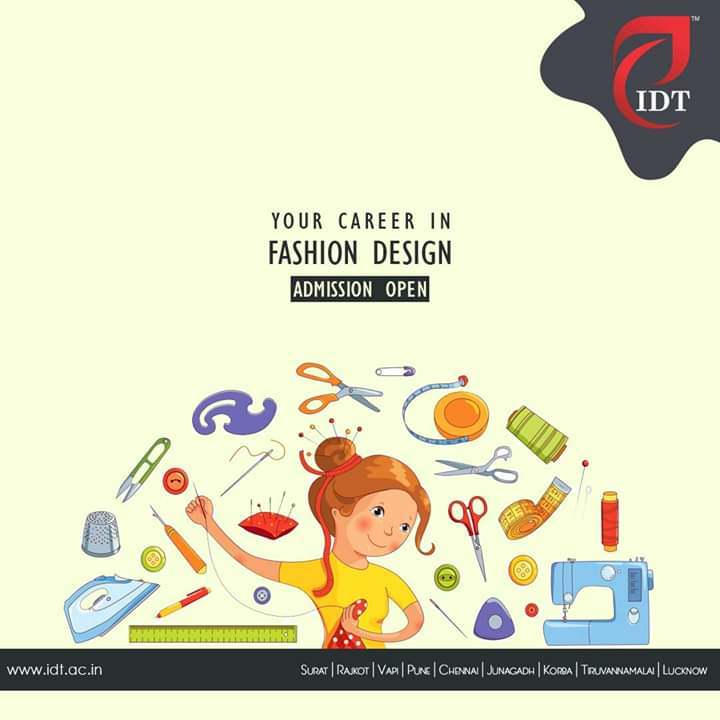 Idt Thiruvannamalai On Twitter Grow Your Career In Fashion Design With Institute Of Design Technology Join Today For Diploma In Fashion Design For Registration Https T Co 4gnvr28nb1 Fashion Fashiondesign Fashioncareer Fashioncourse Https