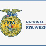 Image for the Tweet beginning: Happy National FFA Week!