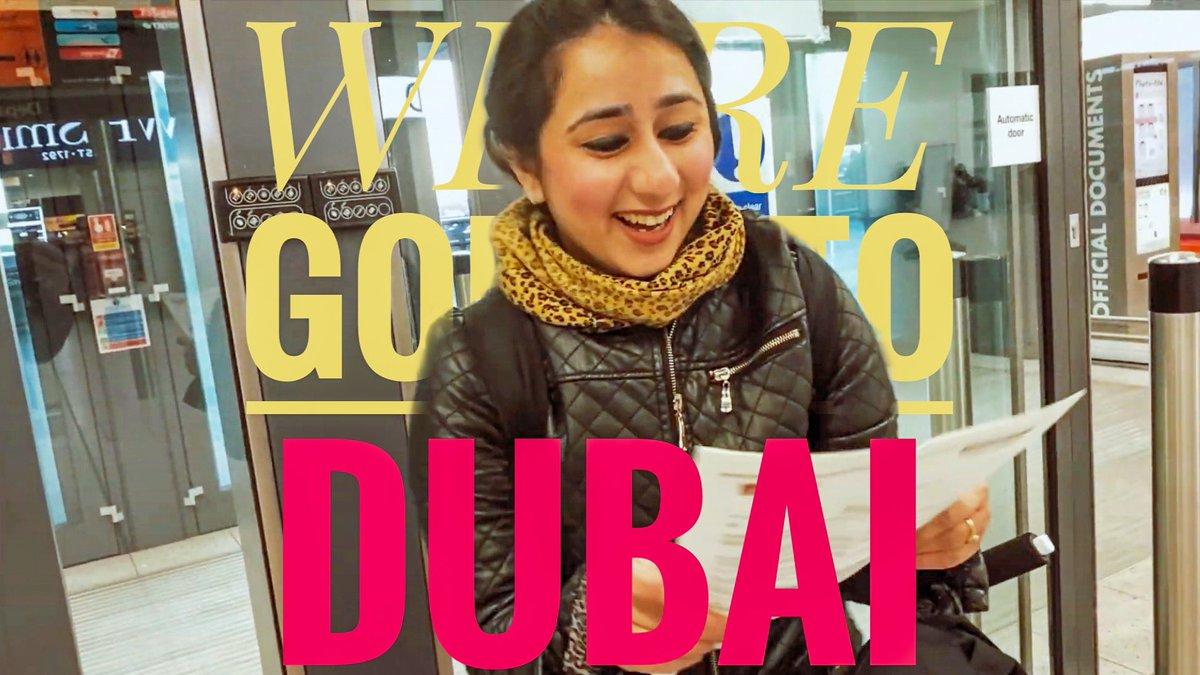 We're going to Dubai!  Check out my latest Vlog Live on my YouTube channel: https://youtu.be/9dmg8MWVAJo  #dubai #dubailife #dubaiholiday #DubaiMarina #emirates #Valentine2020 #weddinganniversary #Anniversary #valentineday #subscribe #youtube #vlog #vlogs #vlogger #dubaivlogpic.twitter.com/3usV4FZ6gk