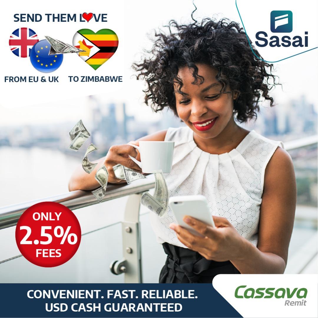 At just 2.5% when you send money home using Sasai, enjoy the lowest transaction fees on the market  #DownloadSasai #SendMoneyHome #CashGuaranteed #LifeIsDigitalpic.twitter.com/gjuchsB6Et