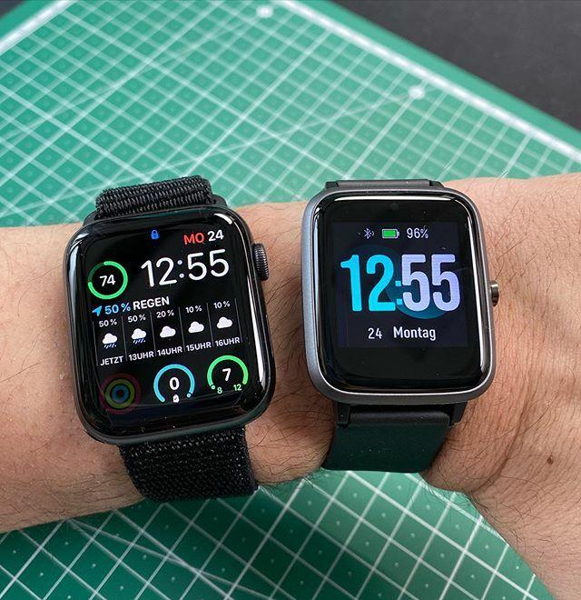 Finde die Apple Watch Optisch sind die Unterschiede überschaubar, beim Preis umso größer. Mal sehen was die Amazon Empfehlung wirklich kann.  #willfulsmartwatch #amazonschoice #applewatch #apple #applewatchseries5 #smartwatch #watch #watchface #tech… https://ift.tt/38QvKzQpic.twitter.com/y1uXpy6naH