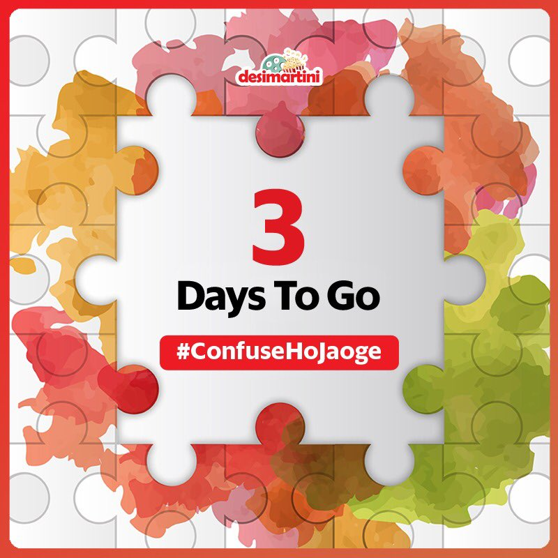 Countdown begins... Just a li'l wait and you can own some super cool goodies!!!  #contest #giveaway #contestalert #confusehojaoge #desimartinimoviespic.twitter.com/gmyjmKgj0N