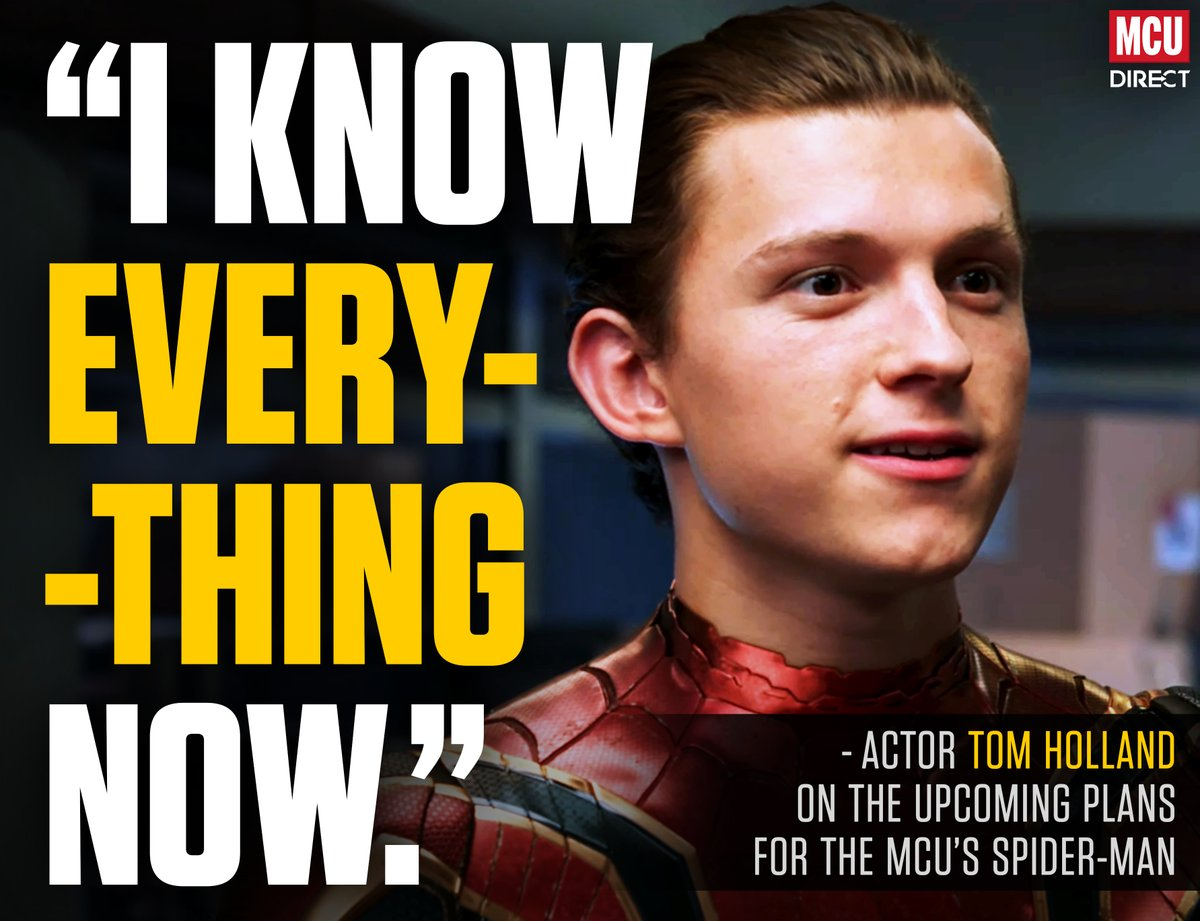 """All the secrets"" of @MarvelStudios' and @SonyPictures' plans for #SpiderMan's on-screen future have been disclosed to @TomHolland1996... http://bit.ly/2HSsSXu"