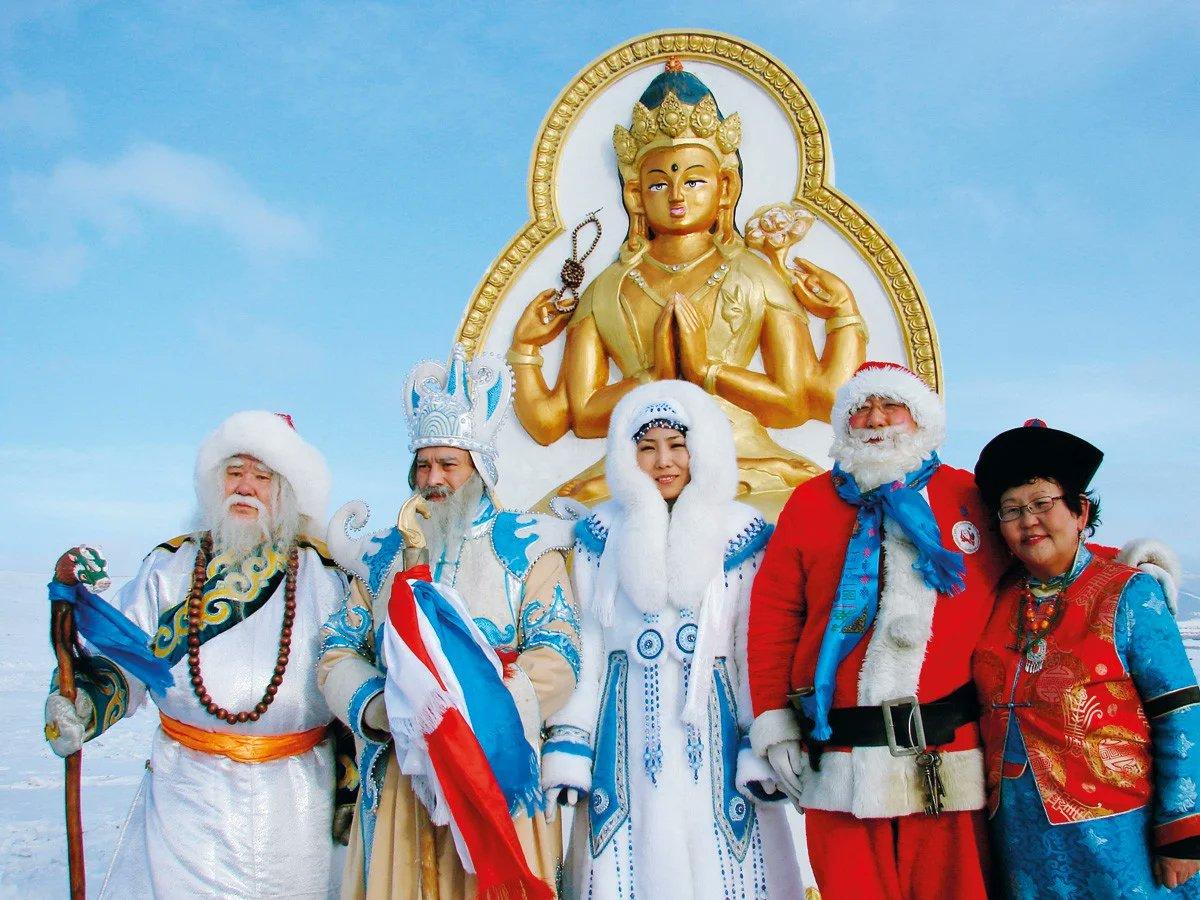 Буддийские поздравления с новым годом