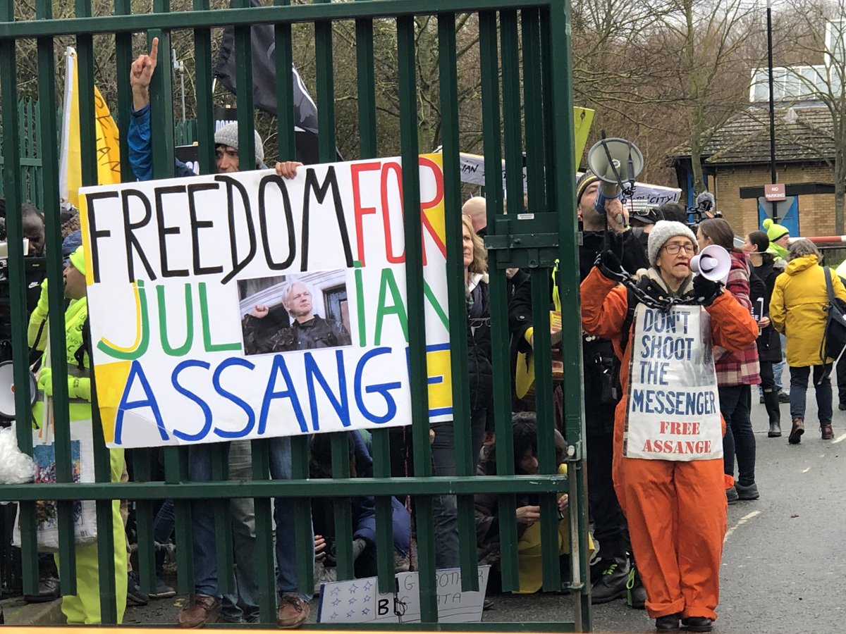 #RSF urges the UK government to prioritise the principles of freedom of expression and the defence of journalism in its treatment of Assange, and to act in accordance with UK law and the country's international human rights obligations. #FreeAssange