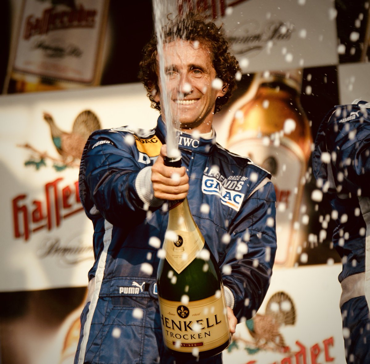 Birthday greetings to #DTM winner Alain Prost, who won the 2005 Legends' Race shoot-out at the Norisring. 🏆🇫🇷    And look who he beat!  🇦🇺 Mick Doohan 🏆🏆🏆🏆🏆 🇧🇷 Emerson Fittipaldi 🏆🏆 🇬🇧 Nigel Mansell 🏆 🇿🇦 Jody Scheckter🏆 🇻🇪 Johnny Cecotto 🏆🏆  #DTMRaceOfLegends 🏎️💨