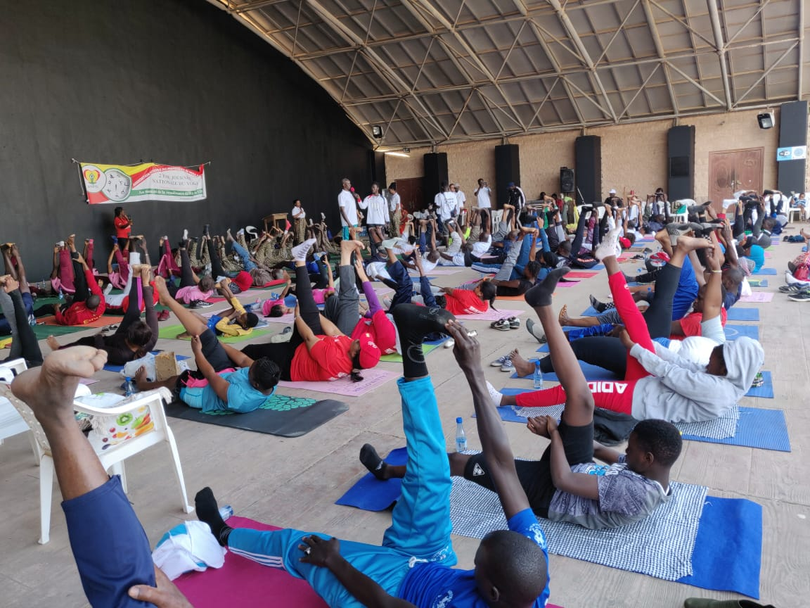 India In Senegal On Twitter Ambassador Gv Srinivas Attends 2nd Annual Yoga Event By Senegalese National Association Of Yoga Teachers 16 Feb 2020 Https T Co Cvdtdntqxu
