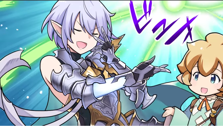 """Introducing our guest, wind primal beast Grimnir!"" ""Heh... indeed it is I, Griiiiimnir, commander of all manners of wind [insert more poetic grimrants here]"" ""In that case, may I ask you to help us with this cold (kaze) epidemic going around?"" <br>http://pic.twitter.com/S3blpvUFvs"