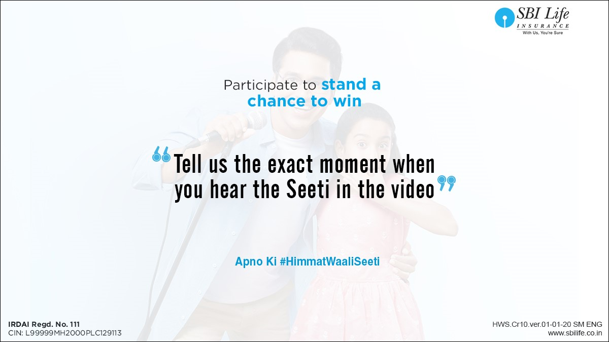 *Hint* Watch the video http://bit.ly/Tw-Tvc, keep your eyes & ears open and leave your answers in the comments section below. T&C - http://bit.ly/HWS-TnC #Contest #ContestAlertIndia #ContestAlert
