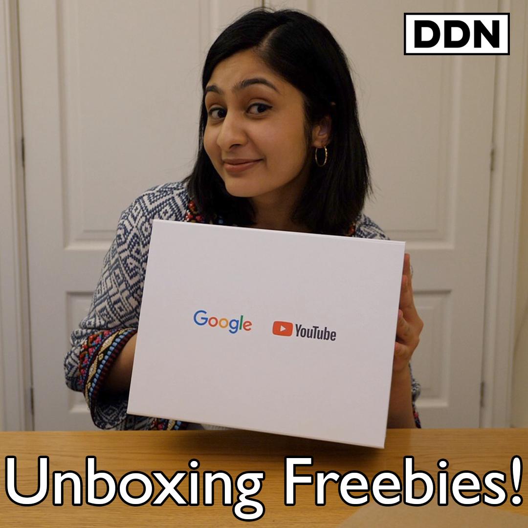 Unboxing Political Freebies with @ZarahSultana MP 🎁 Watch full film: youtu.be/xGx3VqUwkUg