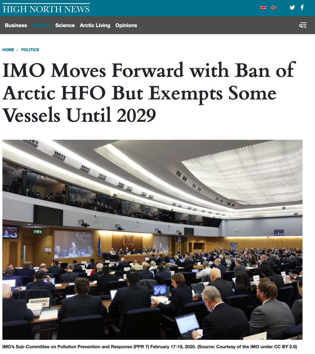 """Image for the Tweet beginning: """"@IMOHQ made progress on controlling"""