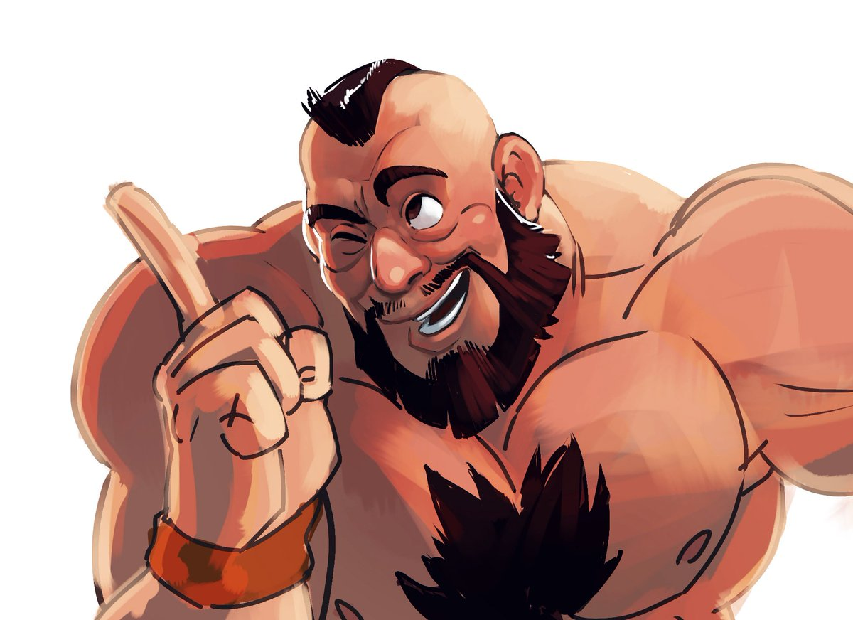 Njay On Twitter I Was Just Having Fun Referring Zangief Expression From Wreck It Ralph But Should I Finish It