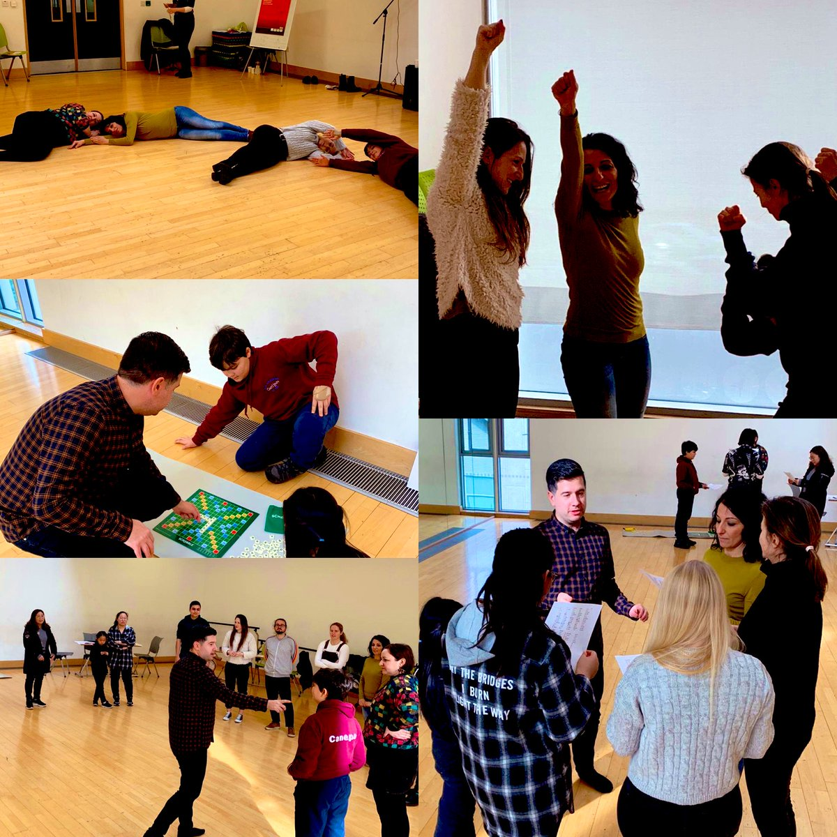 Had a fantastic time getting multilingually creative yesterday @MotherTonguesIE Festival in #Dublin with our @creativelangs workshop. So many languages, ages + backgrounds in the room. Looking forward to this evening's teachers' workshop! #MTFEST2020 #MPPpic.twitter.com/FNL7vN9RJj