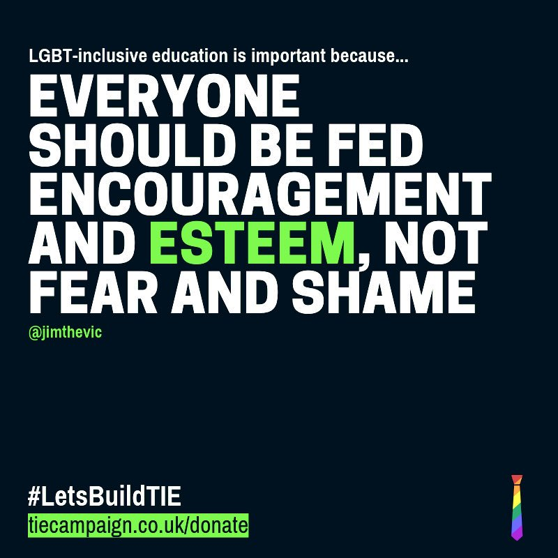 Wise and compassionate words from ... oh! ME! #letsbuildtie #educatetoliberate #LGBTHISTORYMONTH