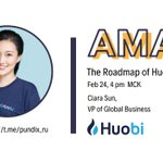 Image for the Tweet beginning: .@HuobiGlobal and #PundiX AMA is